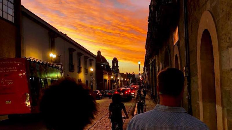 oaxaca sunset